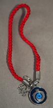 Kabbalah 10 pcs Lot Red String Pomegranate Charm Evil Eye Bracelet Judaica image 4