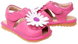 Toddler/Little Kids Flower Princess Casual Outdoor Sandal Fuchsia&White