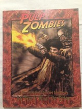 All Flesh Must Be Eaten RPG Pulp Zombies Soft Cover by Eden Studios - $12.99