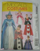 McCalls Costume Pattern M5954 Miss Girls Storyb... - $5.99