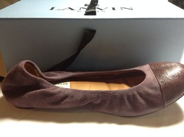 Fashionista Fave Lanvin Uber Soft Leather Ballerina Flats Shoes 39 - $295.10