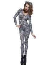 S26806 (Gray) Leopard Body Suit - $430,72 MXN