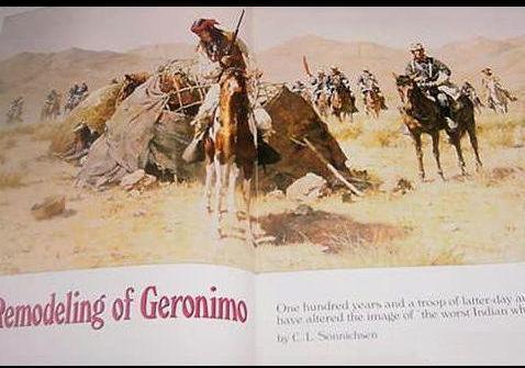 Arizona Highways GERONIMO Collectible Sept 1986 Magazine