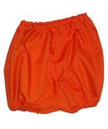 Preemie & Baby Orange Diaper Covers, Baby Bloomers - $10.00