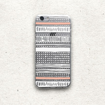 New Aztec Pattern Clear Hard Case for iPhone & Samsung Phone Case    - $7.00