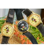 Lot Vintage Mickey Minnie Mouse Disney Character Wristwatch Watch - $18.95