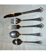 REED & BARTON HIGHLANDS 5 PIECE PLACE SETTING - $16.95