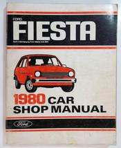 1980 Ford Fiesta Car Shop Manual ( Built In Ger... - $17.81