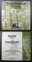 "industrial MANAPSARA Routine 1988 SUB ROSA 12"" PS experimental - $24.99"