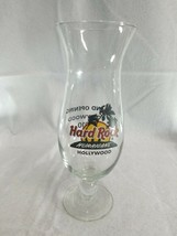 Hard Rock Cafe Hollywood grand opening 2010 HURRICANE DRINK GLASS - $13.55