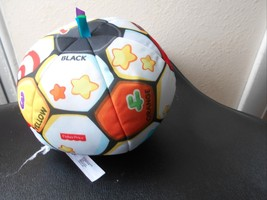 Fisher Price Laugh & Learn Singing Soccer Ball Ages 6 - 36 months White - $6.22