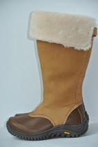 UGG Australia Miko 5 Brown Leather Sheepskin Waterproof Tall Boots 1013479 $300 - $98.99