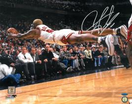 Dennis Rodman signed Chicago Bulls 16X20 Photo Diving- Tri-Star Hologram - £36.63 GBP