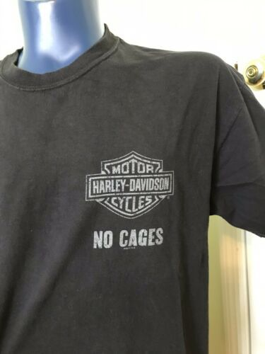 Harley Davidson Tee T Shirt Grand Canyon Bellemont Arizona XL Black No Cages image 3