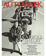 AUTOWEEK May 28, 2012 CARROLL SHELBY memorial magazine - $7.99