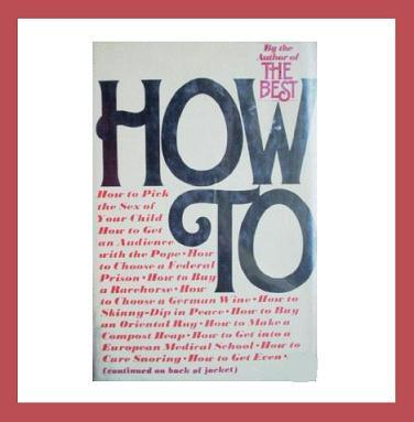 How to   by peter passell