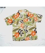 Gymboree Size 5 BoysTan Hawaiian Flowered Shirt - $9.99