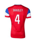 Nike USA 2014 World Cup BRADLEY Away Soccer Jersey - $64.99