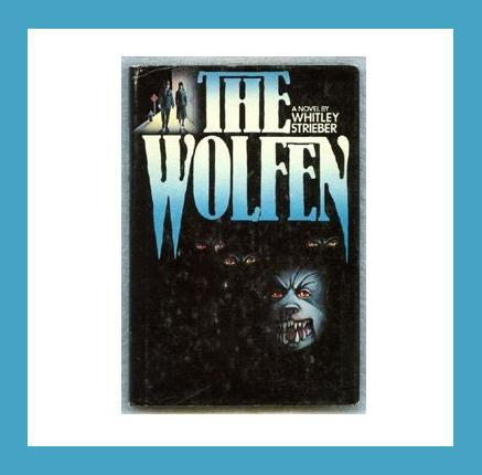 THE WOLFEN by Whitley Strieber 1978 Hardcover HORROR Book