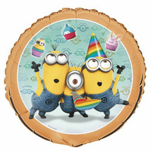 """Despicable Me 2 Minions Birthday 18"""" Foil Mylar Balloon 1 ct Dave - $2.76"""