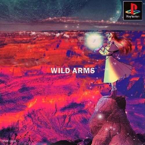 Wild Arms, Sony Playstation One PS1, Import Japan Game