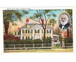 Old postcard longfellow home cambridge ma thumb155 crop