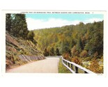 Old postcard berkshire trail goshen cummington ma thumb155 crop