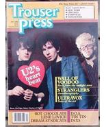 Trouser Press Magazine TP 87 Wall of Voodoo, Stranglers, Ultravox - $6.99