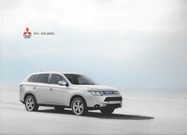 2014 Mitsubishi OUTLANDER sales brochure catalog 14 US ES SE GT - $8.00