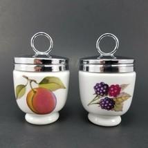 Royal Worcester Egg Coddler Trinket Jars Dinnerware  - $13.30