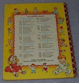 Children's Bonnie Book Dick Whittington