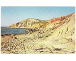 Vintage chrome postcard gay head cliffs ma thumb155 crop