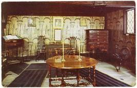 Vintage postcard living room paul revere house boston ma thumb200