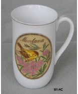 Montana Souvenir Collector Cup Mug With State Bird and Flower - $9.99