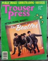 Trouser Press TP 51 Beatles cover, Public Image, Romantica - $6.99