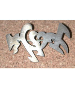 Sterling silver Hand Crafted cut out Pin/brooch vintage Epler - $14.35