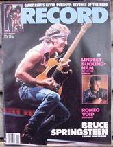 Record Magazine Vol 4 No 1 Bruce Springsteen cover - $6.99