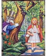 Little Red Riding Hood & The Big Bad Wolf print - $5.00