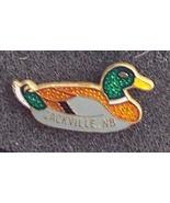 Old Floating Mallard Duck Cloisonne Lapel Pin Pinback - $3.00