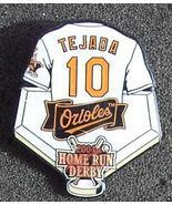 Miguel Tejada Baltimore Orioles 2004 Home Run Derby Lapel Pin  - $4.00