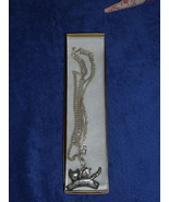 Beautiful Silvertone GUARDIAN ANGEL OF CATS Necklace NWOT - $14.99