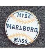 MYBA Marlboro Mass. Little League Baseball Pin Pinback - $9.90