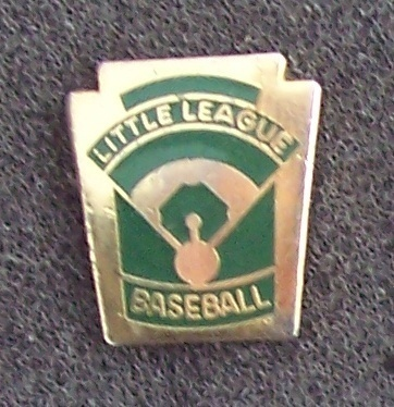 Little League Baseball Pin Pinback