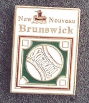 New Brunswick Softball Pin Pinback - $7.00