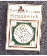 New Brunswick Softball Pin Pinback - $7.00