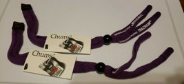 2 Chums Original Cotton Eyewear Retainer Sunglass Strap TRACRIUM purple ... - $9.50