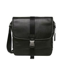 NWT COACH MENS LEATHER BAG BLACK f71552 - $178.99
