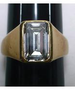 Vintage 2.3 Carat Emerald Cut Diamond Ring 14KG VS1 K Size 6.25 - $50,000.00