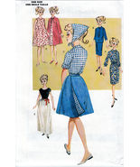 "RETRO C.1963 BARBIE BUTTERICK 6965 11.5"" DOLL SEWING PATTERN OOP UNCUT - $17.99"