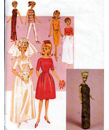 "CIRCA 1964 OOP 11.5"" BARBIE BUTTERICK 3419 VINTAGE FASHION DOLL PATTERN UNCUT - $16.99"